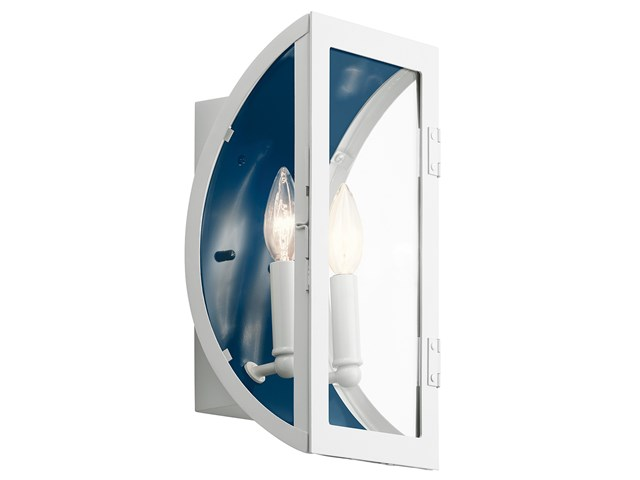 "Narelle™ 13.5"" 2 Light Wall Light White"