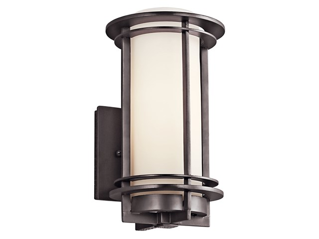 "Pacific Edge 10.75"" 1 Light Wall Light Architectural Bronze"
