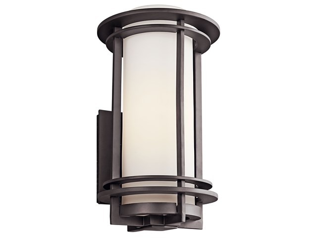 "Pacific Edge 16"" 1 Light Wall Light Architectural Bronze"