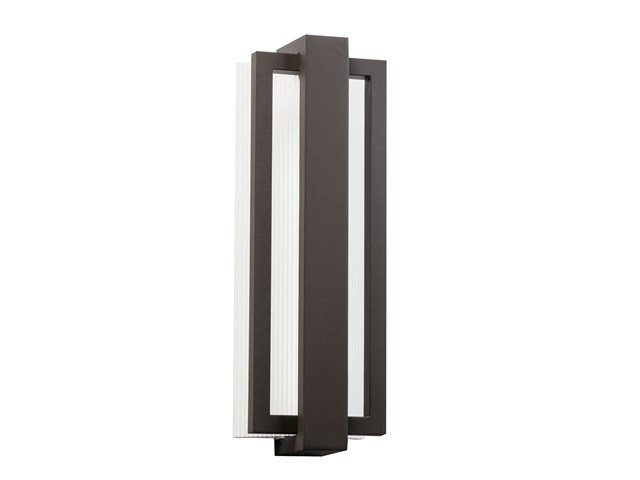 "Sedo 18.25"" 1 Light LED Wall Light Architectural Bronze"