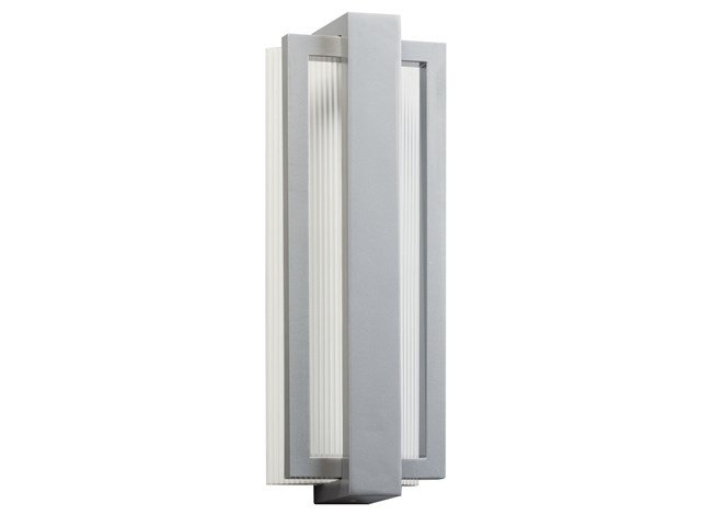 "Sedo 18.25"" 1 Light LED Wall Light Platinum"