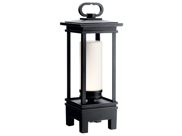 South Hope Portable Bluetooth LED Lantern Rubbed Bronze™