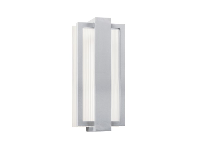 "Sedo 12.25"" 1 Light LED Wall Light Platinum"