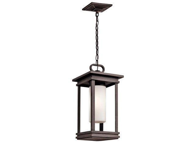 "South Hope 9"" Fluorescent Pendant Rubbed Bronze™"