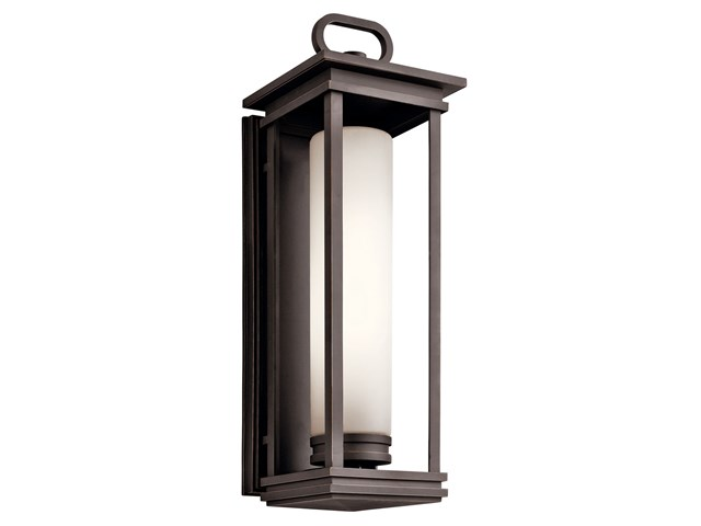South Hope 2 Light Wall Lantern Rubbed Bronze™