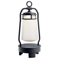Lyndon™ Portable Bluetooth LED Lantern Textured Black