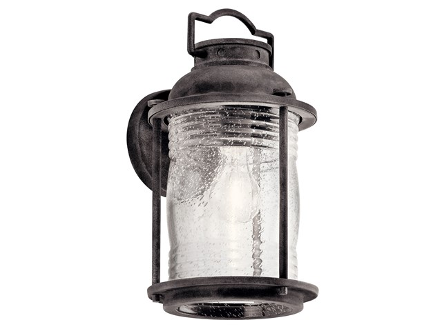 "Ashland™ Bay 13.5"" 1 Light Wall Light Weathered Zinc"