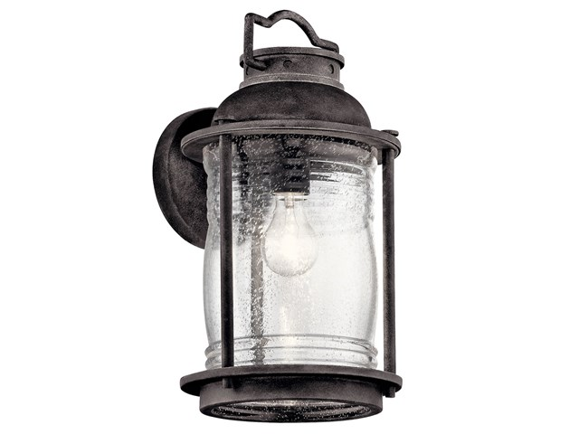 "Ashland™ Bay 16"" 1 Light Wall Light Weathered Zinc"