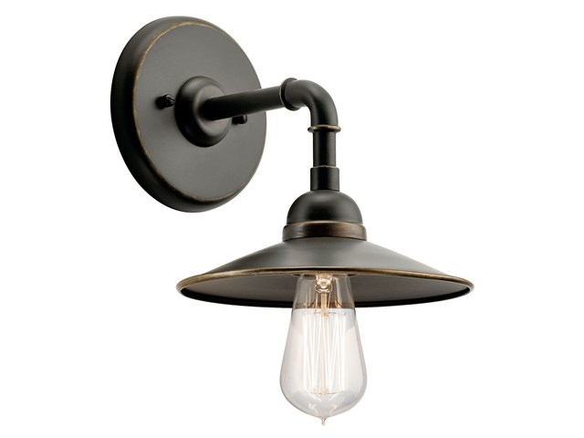 "Westington™ 8.25"" 1 Light Wall Light Olde Bronze®"