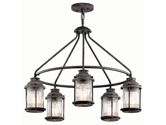 Ashland™ Bay 5 Light Chandelier Weathered Zinc