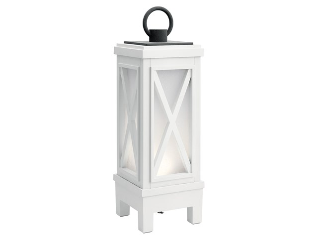 Montego Portable Bluetooth LED Lantern Weathered White™