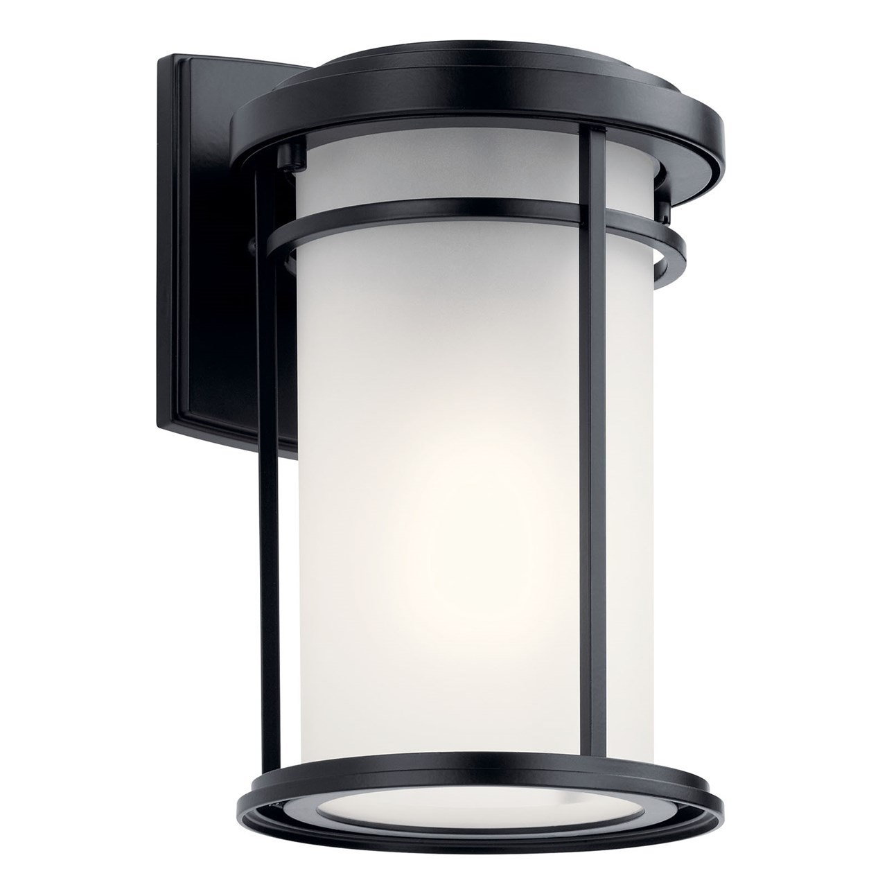 KIC 49686BK 1X75M Toman Black Outdoor Wall Light NEWSTOCK MAR 2019