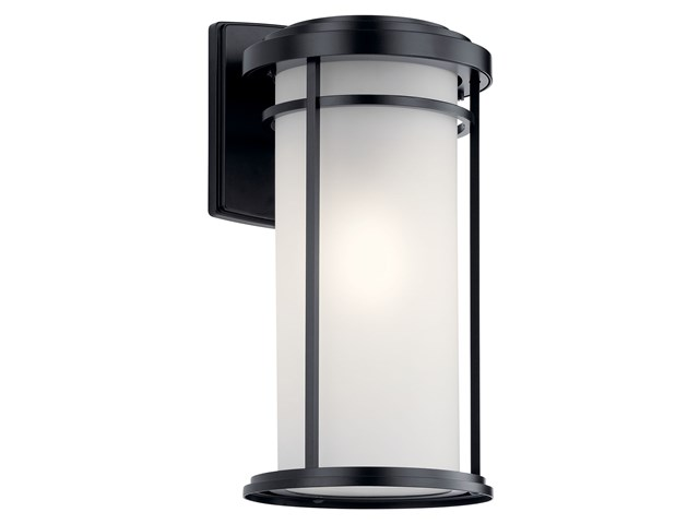 "Toman™ 20"" 1 Light Wall Light Black"