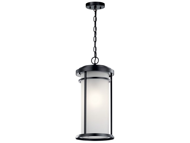 "Toman™ 10"" 1 Light Pendant Black"