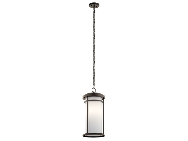 "Toman™ 21.25"" 1 Light Pendant Olde Bronze®"