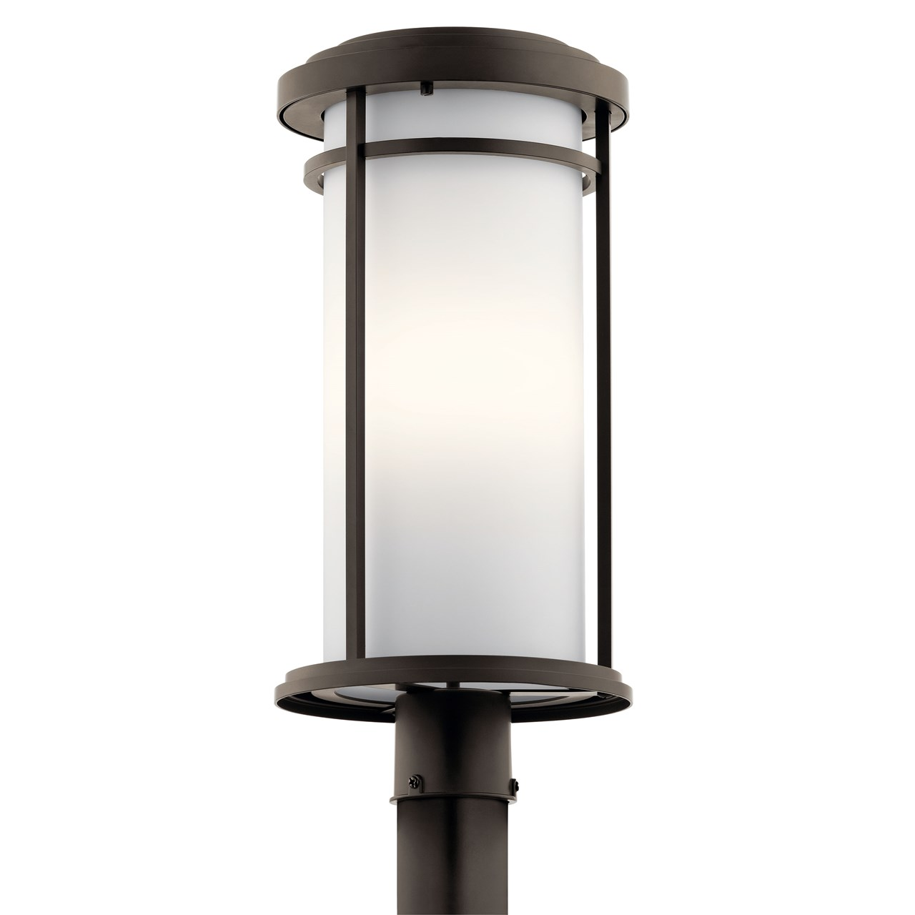 Toman™ 1 Light Post Mount Olde Bronze®