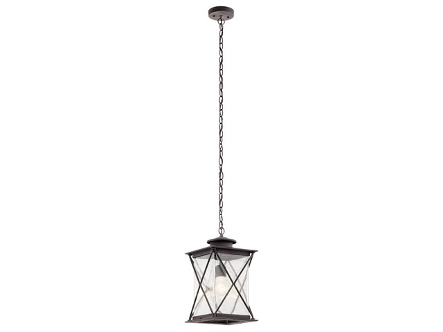 Argyle 1 Light Pendant Weathered Zinc
