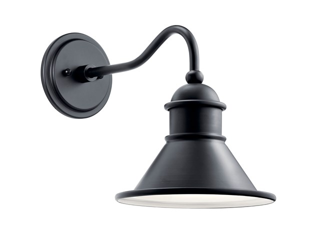 "Northland™ 12"" 1 Light Wall Light Black"