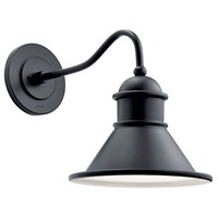 Northland™ 1 Light Wall Light Black