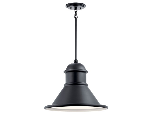 Northland™ 1 Light Pendant Black
