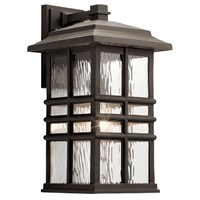 "Beacon Square 17"" 1 Light Wall Light Olde Bronze®"