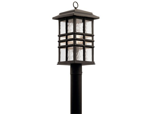 Beacon Square™ 1 Light Post Mount Olde Bronze®