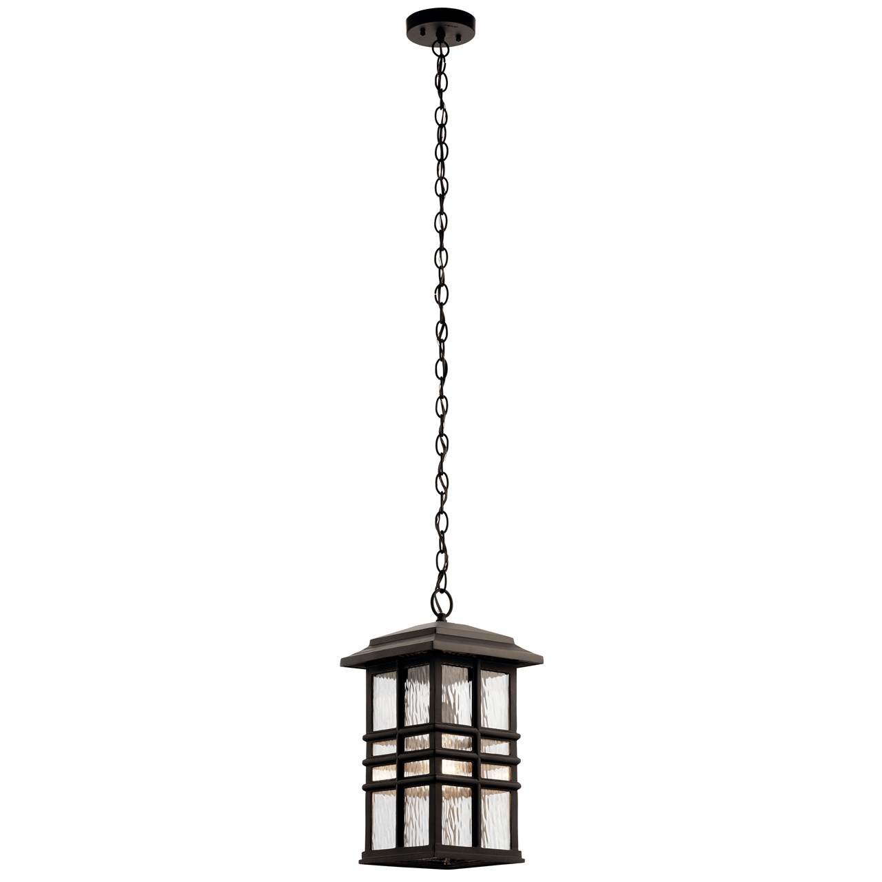 "Beacon Square™ 9.5"" 1 Light Pendant Olde Bronze®"