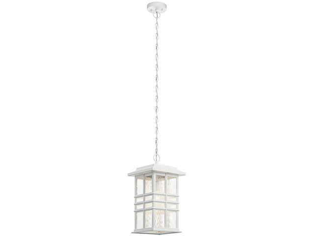 "Beacon Square™ 9.5"" 1 Light Pendant White"