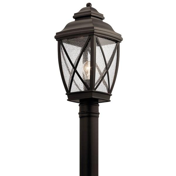 Www Kichler: Tangier™ 1 Light Post Mount Olde Bronze®