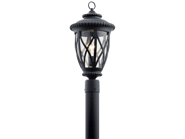 Admirals Cove™ 1 Light Post Light Textured Black