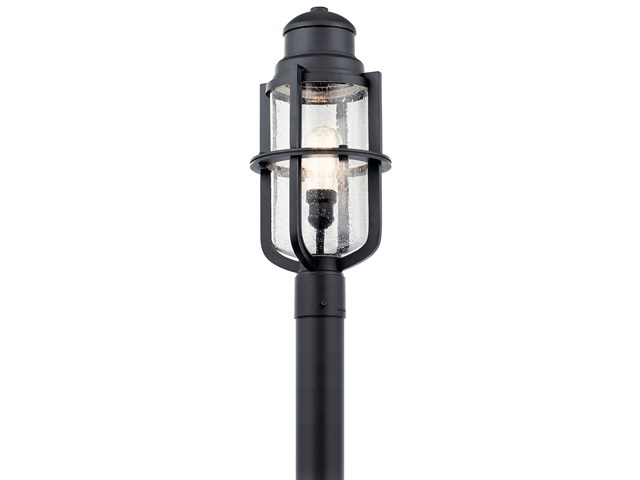 Suri 1 Light Post Light Textured Black