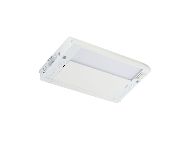 "4U 8"" 2700K LED Cabinet Light Textured White"