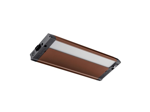 "4U 12"" 2700K LED Under Cabinet Textured Bronze"