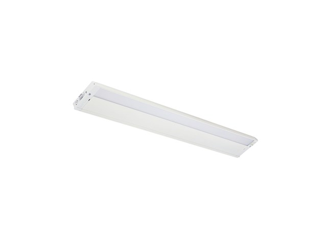 "4U 30"" 2700K LED Cabinet Light Textured White"
