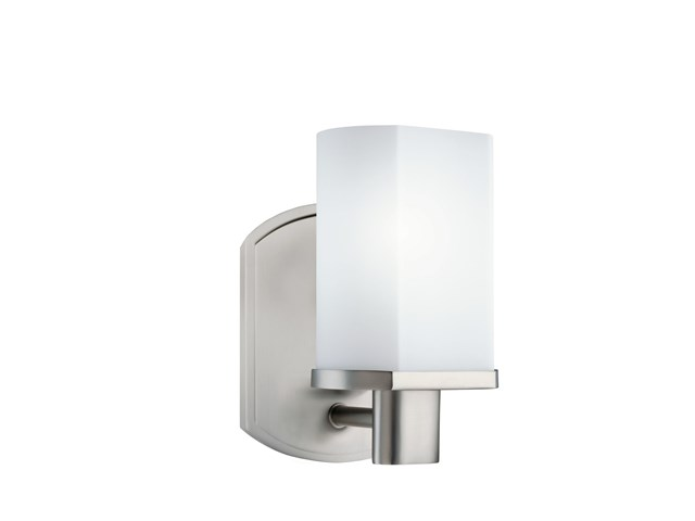 Lege 1 Light Wall Sconce Brushed Nickel