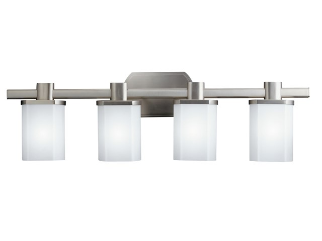 Lege 4 Light Vanity Light Brushed Nickel