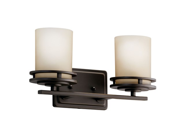 Hendrik 2 Light Vanity Light Olde Bronze®