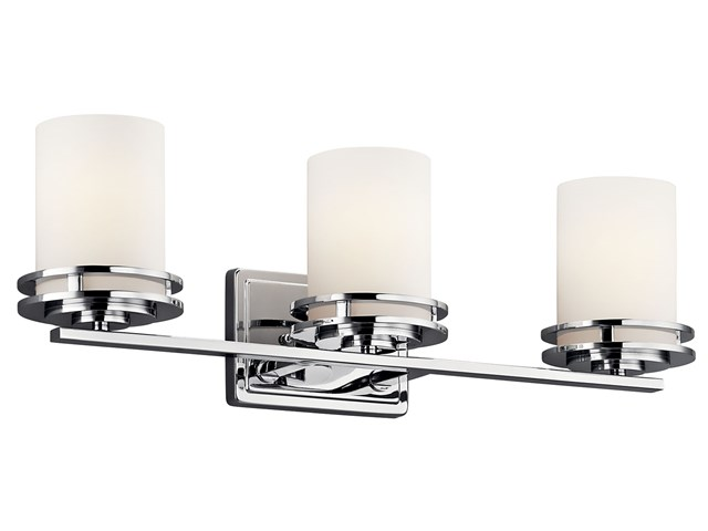 Hendrik 3 Light Vanity Light Chrome