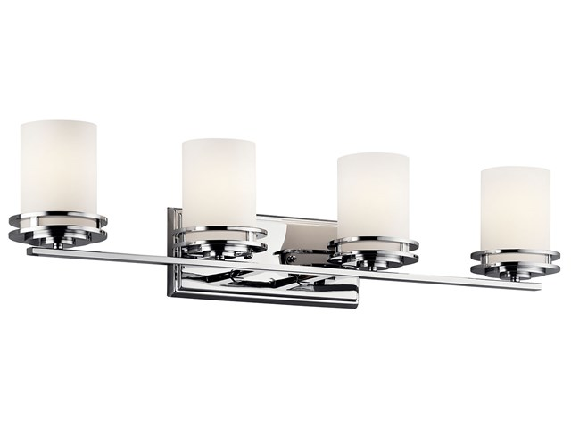 Hendrik 4 Light Vanity Light Chrome