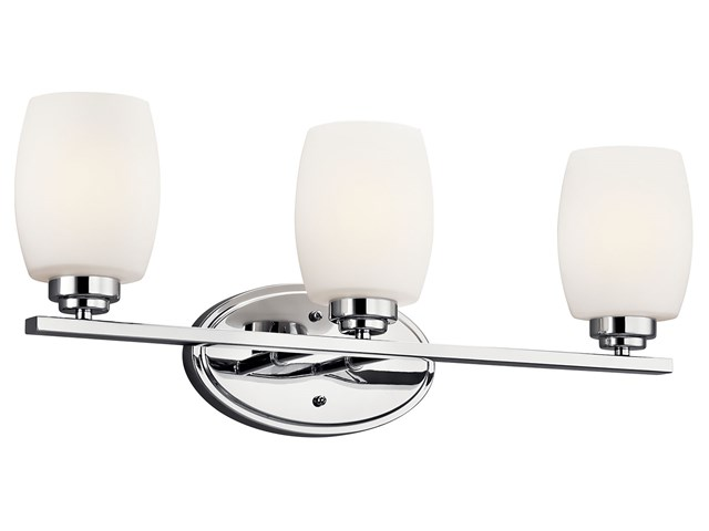 Eileen 3 Light Vanity Light Chrome