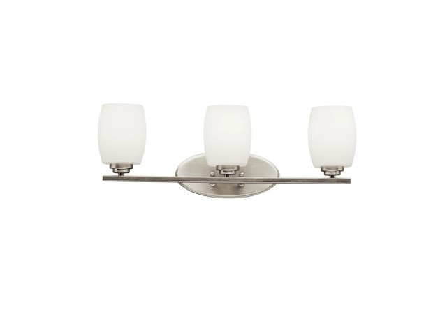 Eileen™ 3 Light Vanity Light Brushed Nickel