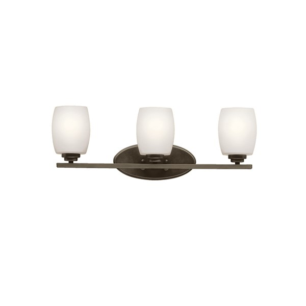 Eileen™ 3 Light Vanity Light with LED Bulb Olde Bronze®