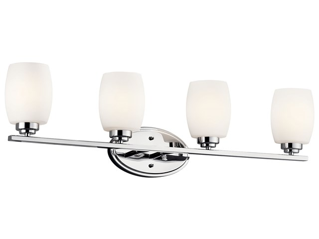 Eileen 4 Light Vanity Light Chrome