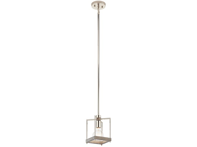 Tanis™ 1 Light Pendant Distressed Antique Gray