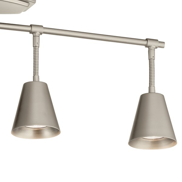 Sylvia™ 4 Light Rail Light Satin Nickel