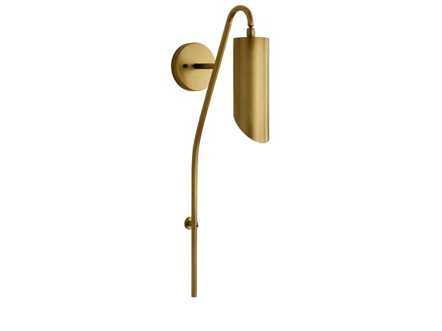 Trentino™  1 Light Wall Sconce Natural Brass