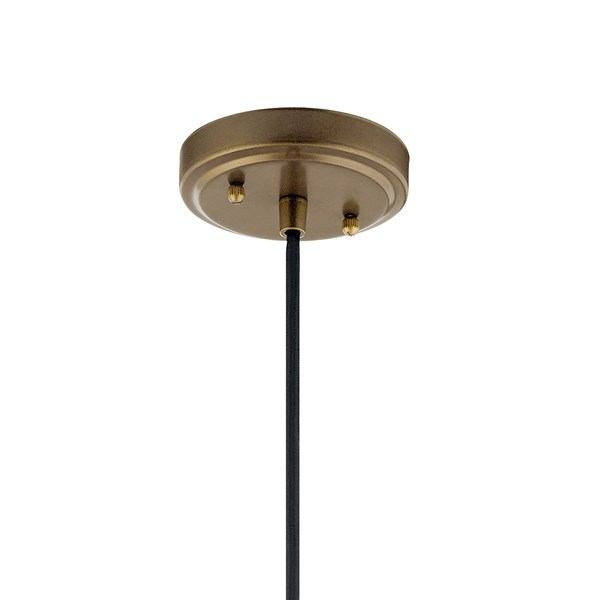 "Zailey™ 9.5"" 1 Light Pendant Natural Brass"