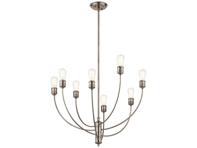 Hatton 8 Light Chandelier Classic Pewter