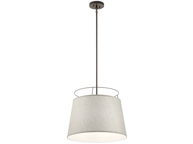 "Marika™ 20"" 3 Light Pendant Olde Bronze"