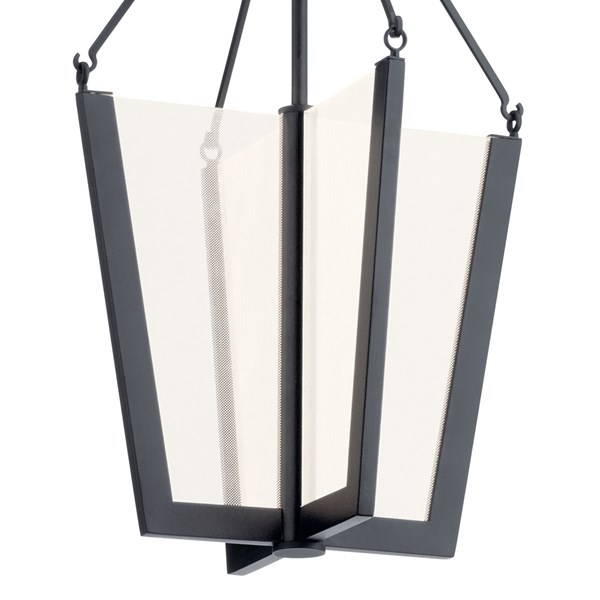 "Calters 19.75"" LED Pendant Black"